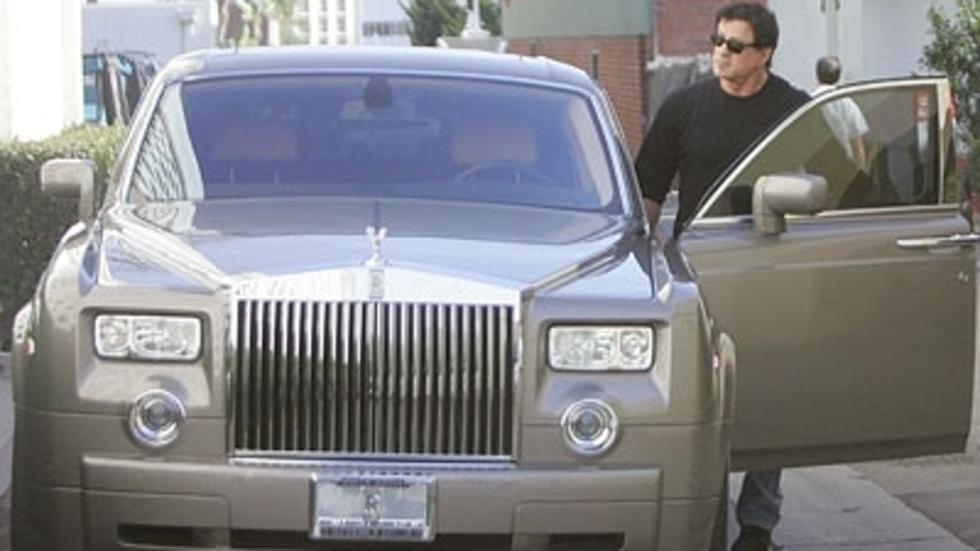 Los coches de Sylvester Stallone: Rolls-Royce Phantom