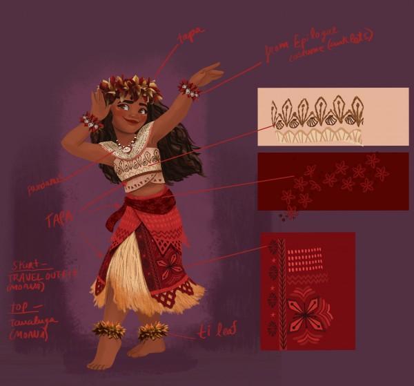 Vaiana Moana Arte conceptual