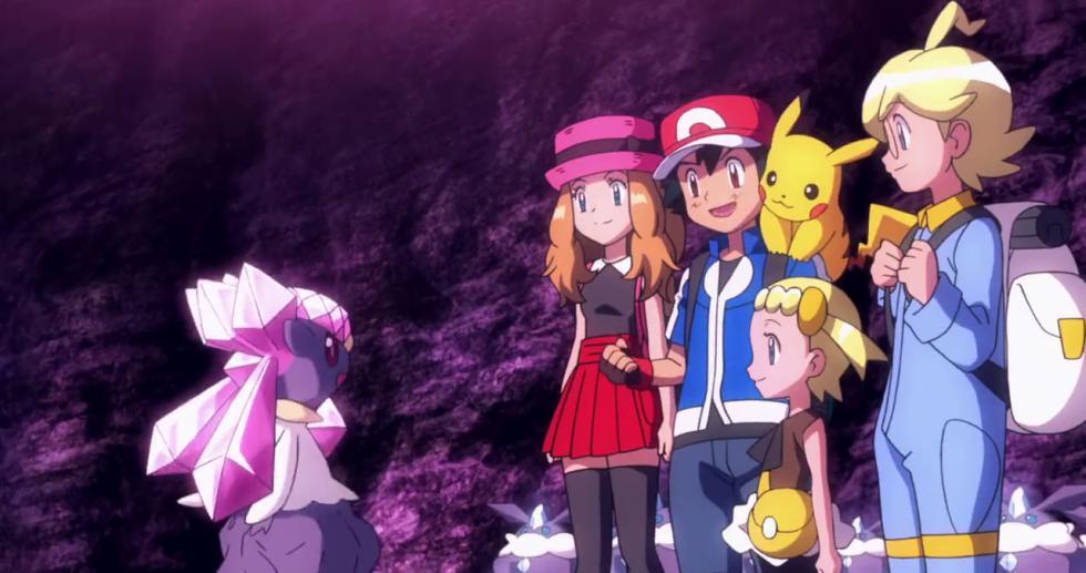 Pokémon XY: Diancie y la Crisálida de la Destrucción
