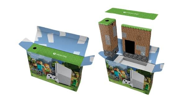 Pack Xbox One S + Minecraft