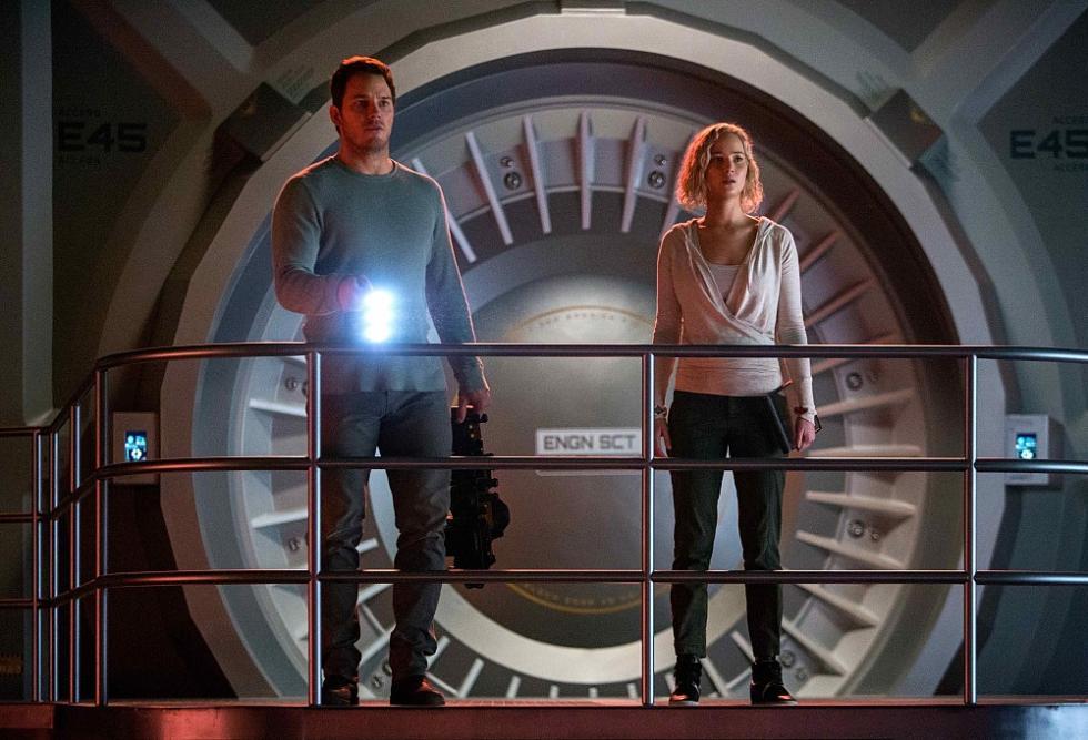 Passengers película con Chris Pratt y Jennifer Lawrence