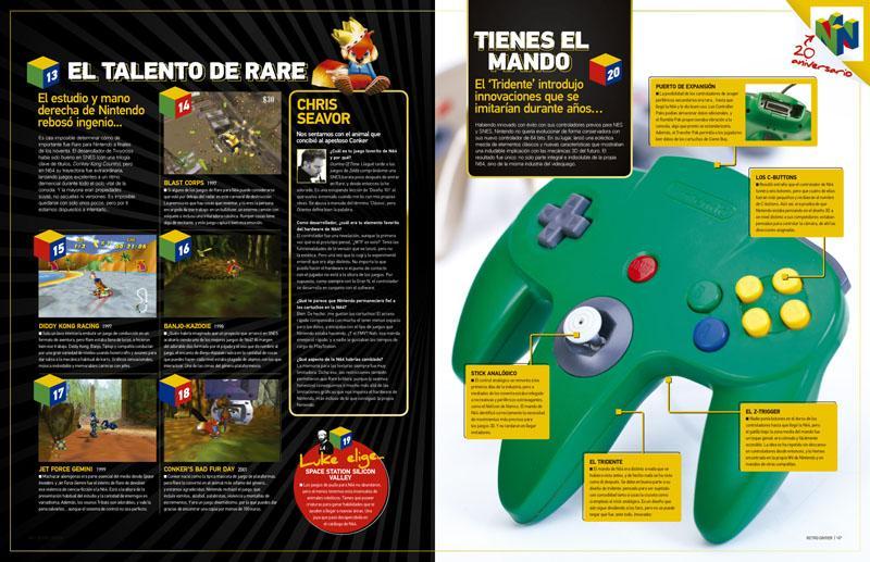 Retro Gamer 17: el hechizo de Nintendo 64