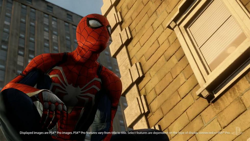 Spider-Man PS4 Pro
