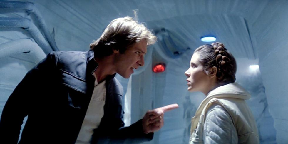 Star Wars: Han Solo y Leia