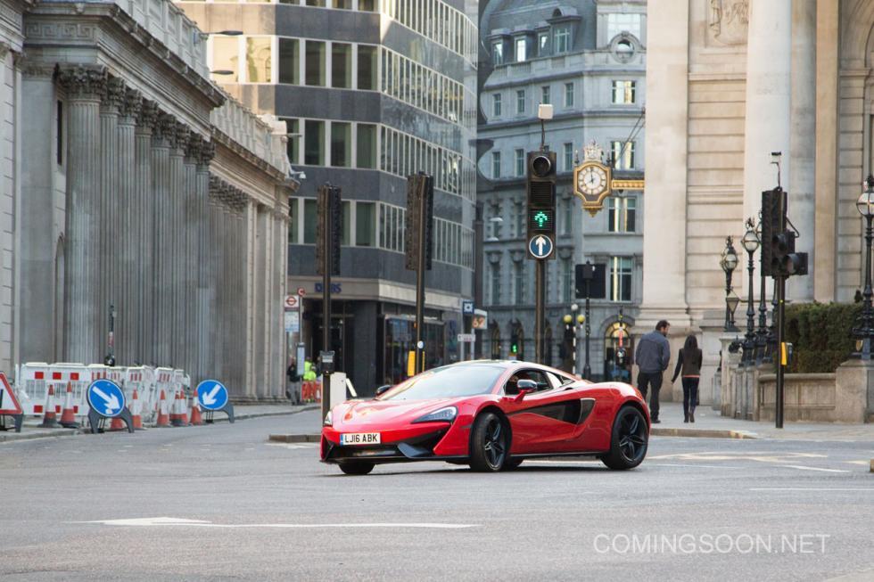 Rodaje en Londres