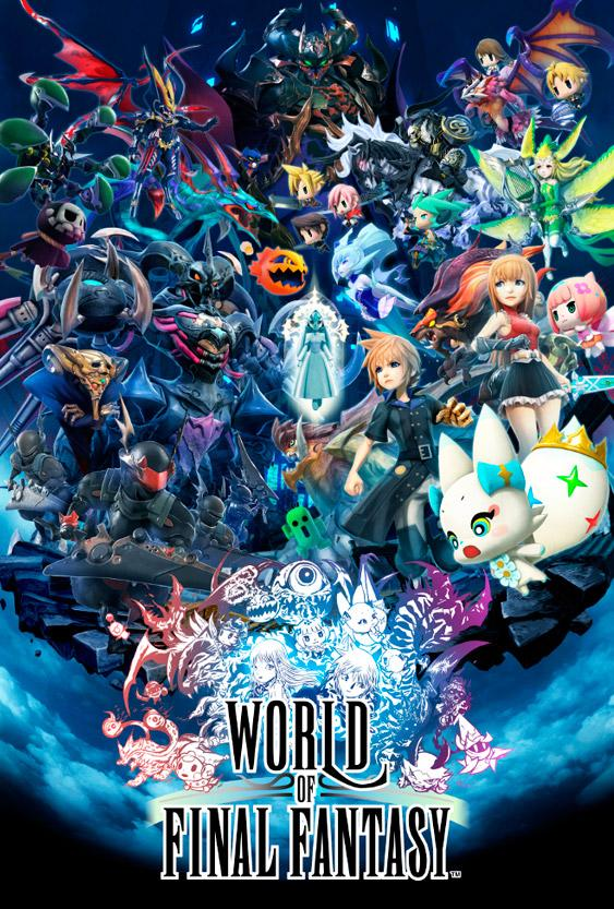 World of Final Fantasy - Carátula