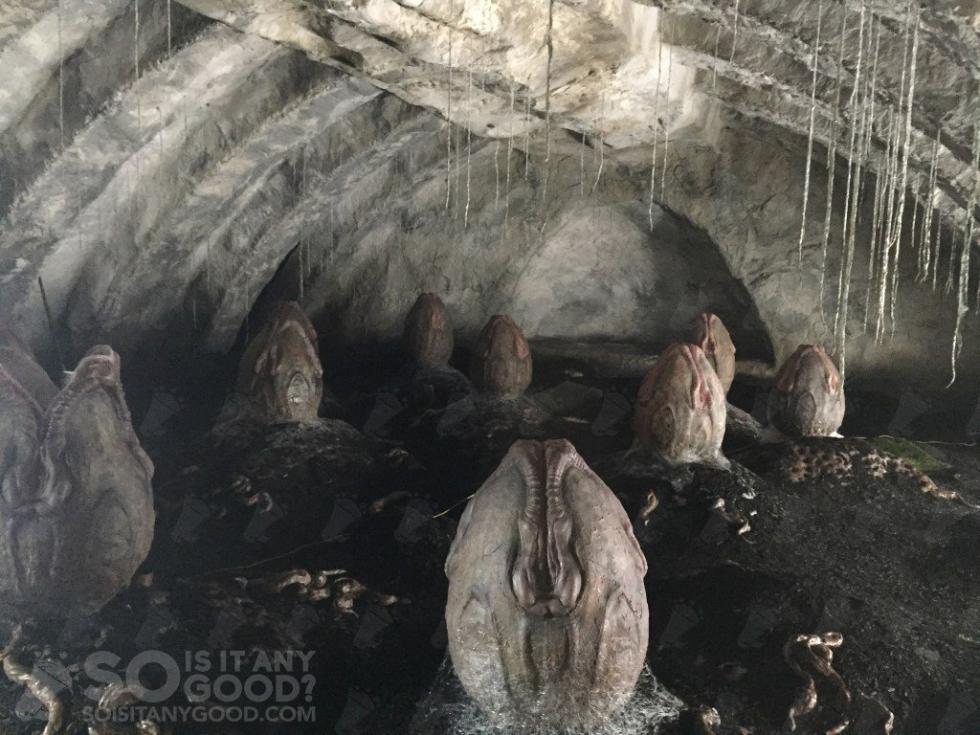 Alien: Covenant - Primeras imágenes de los Xenomorfos en todas sus fases
