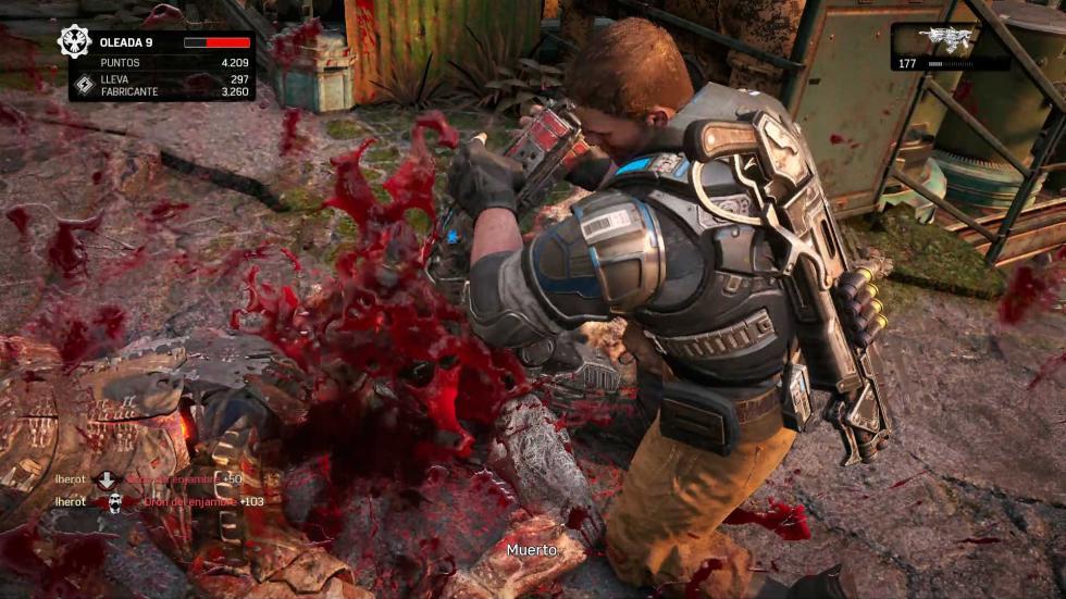 Análisis de Gears of War 4 horda