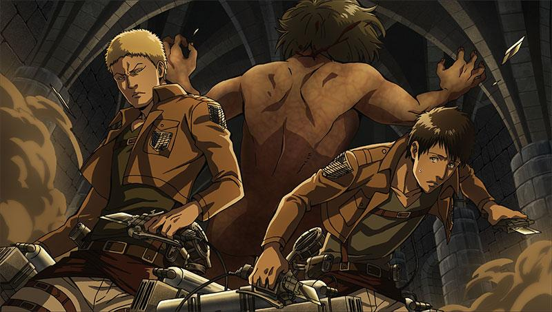 Attack on Titan Escape from Certain Death