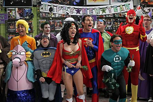 The Big Bang Theory - The Justice League Recombination (4x11, 2010)