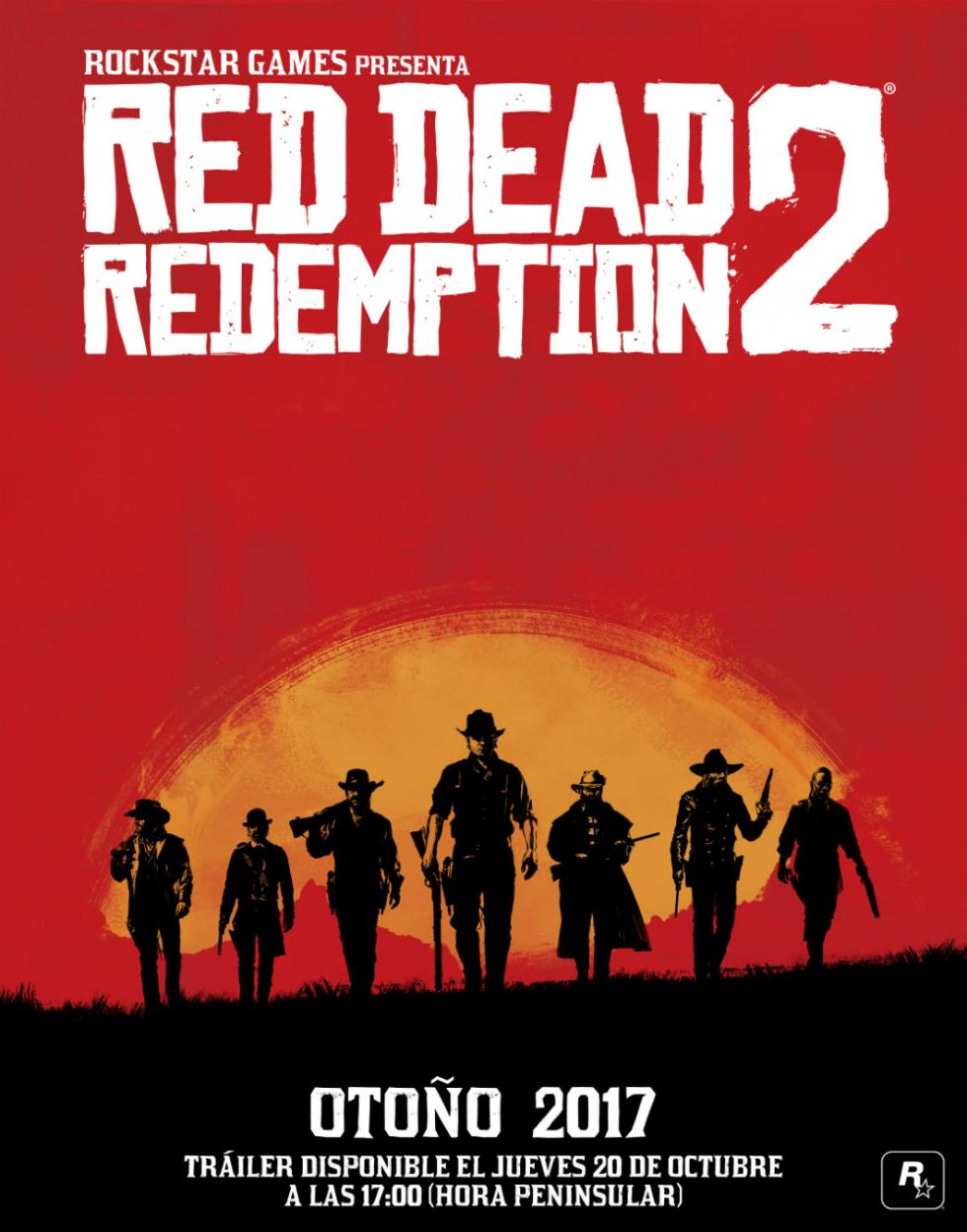 Cartel oficial de Red Dead Redemption 2