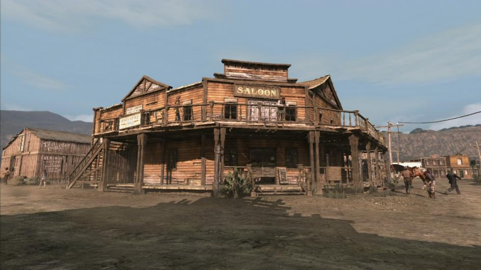 Edificios en Red Dead Redemption