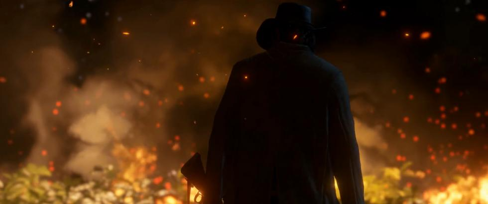 Fuego en Red Dead Redemption 2