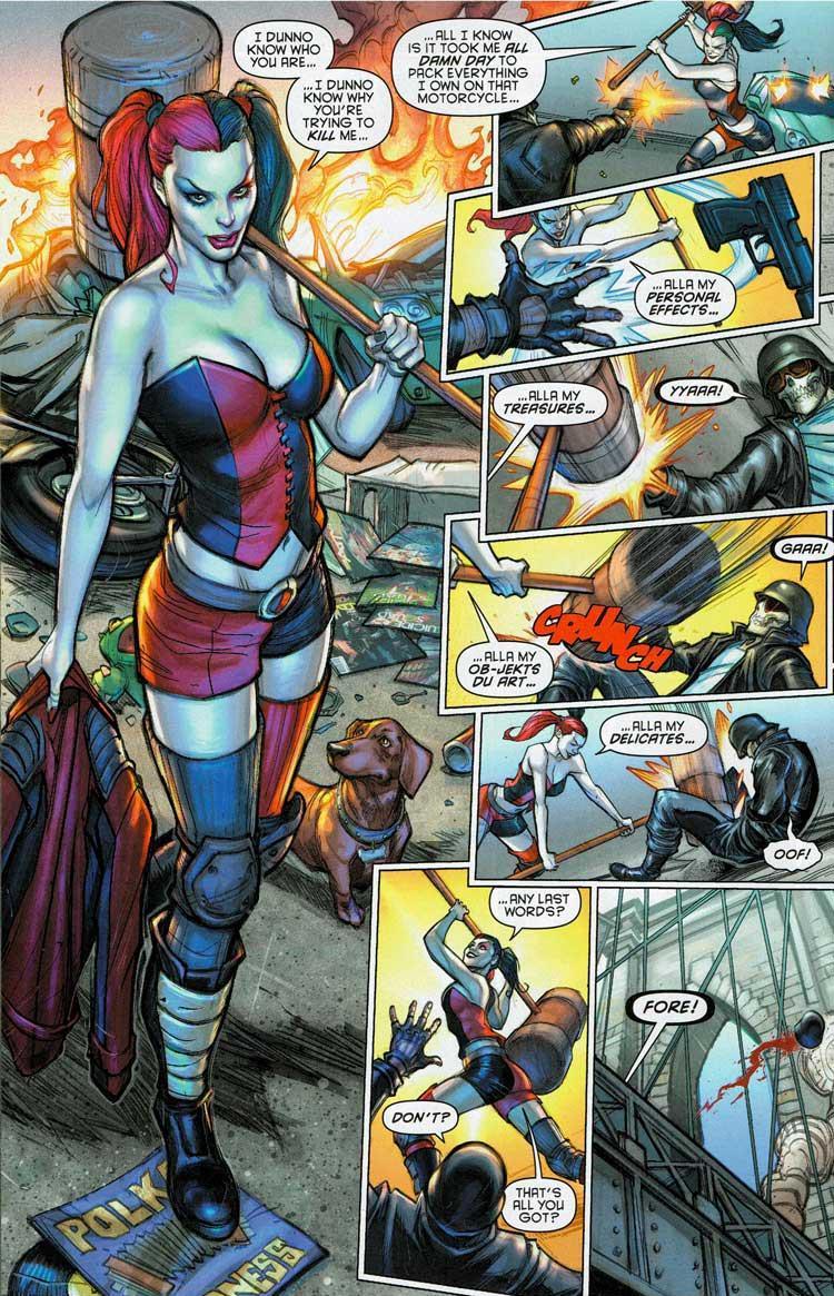 Harley Quinn: Calor en la Ciudad