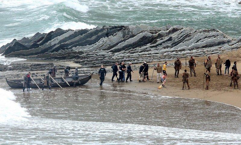 Juego de Tronos: Temporada 7 - Nuevas fotos del rodaje en el País Vasco