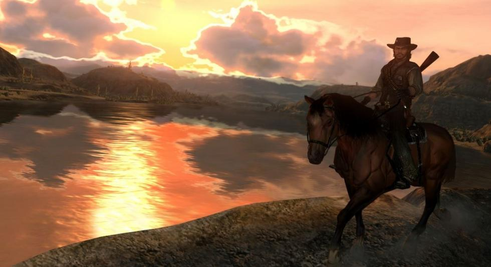 Lago en Red Dead Redemption