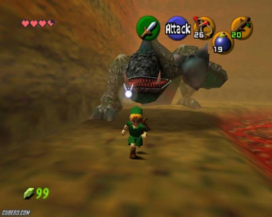 The Legend of Zelda: Ocarina of Time - 1998