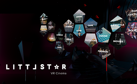 Littlestar VR Cinema para PS VR