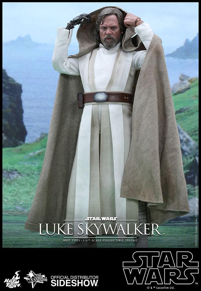 Luke Skywalker. La figura de Hot Toys de Star Wars: El Despertar de la Fuerza