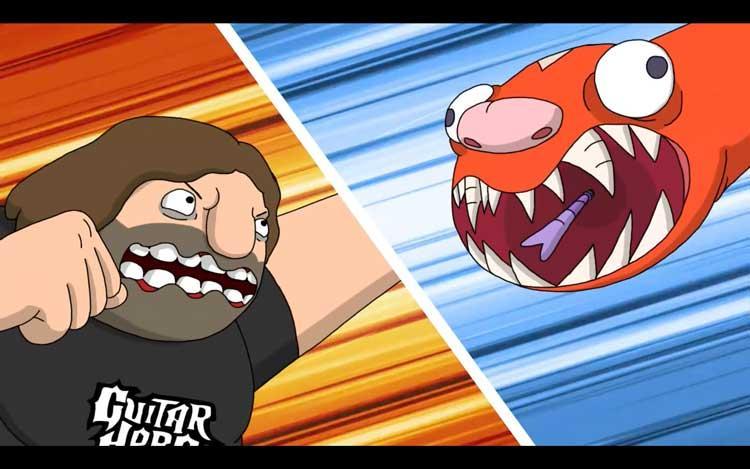 Man vs Snake