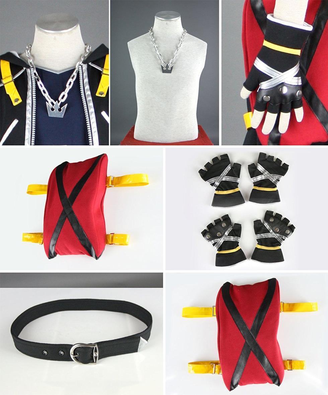 Los mejores disfraces de Kingdom Hearts - Sora