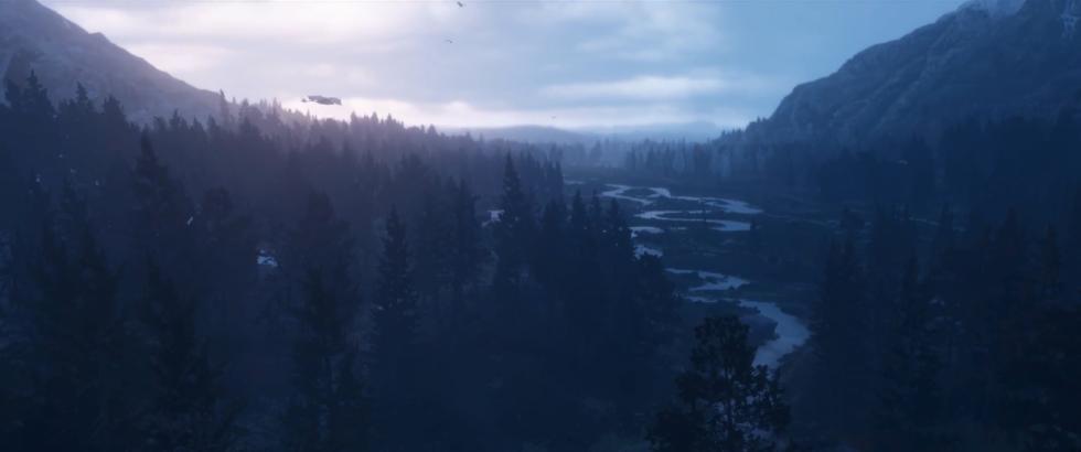 Montañas en Red Dead Redemption 2