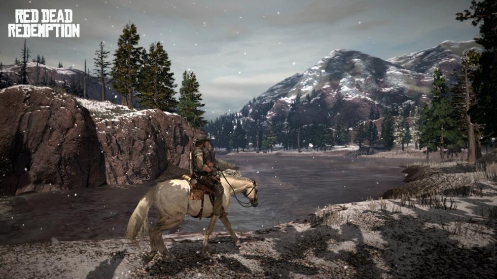 Montañas en Red Dead Redemption
