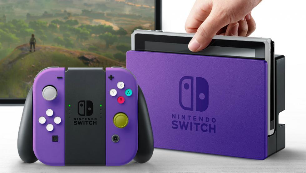 Nintendo Switch con carcasa de GameCube