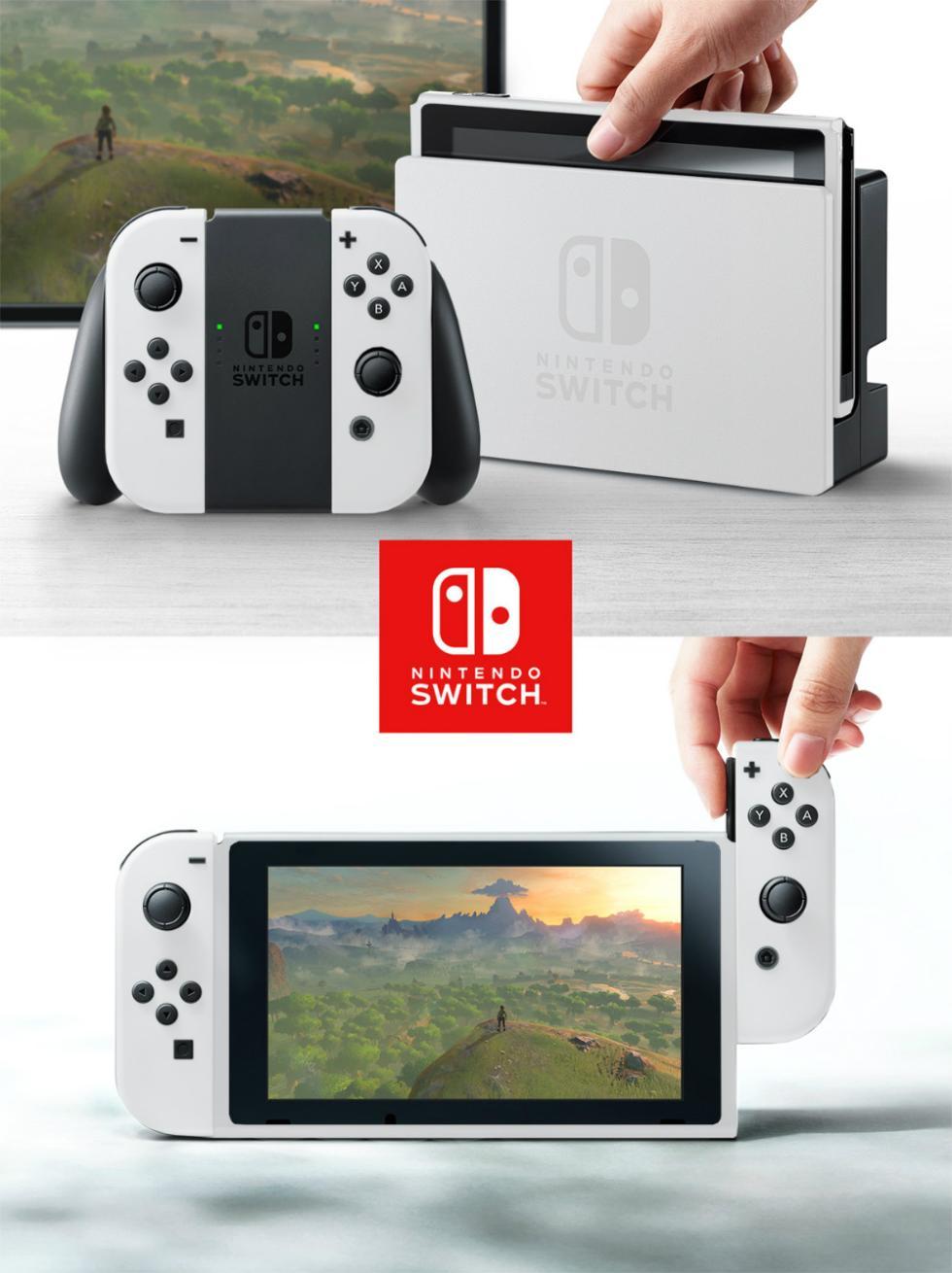 Nintendo Switch con carcasa de Wii