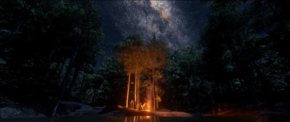 Noche en Red Dead Redemption 2