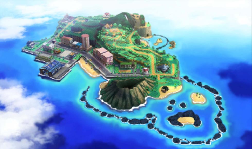 Pokémon Sol y Luna - La región de Alola y la ciudad Hauoli