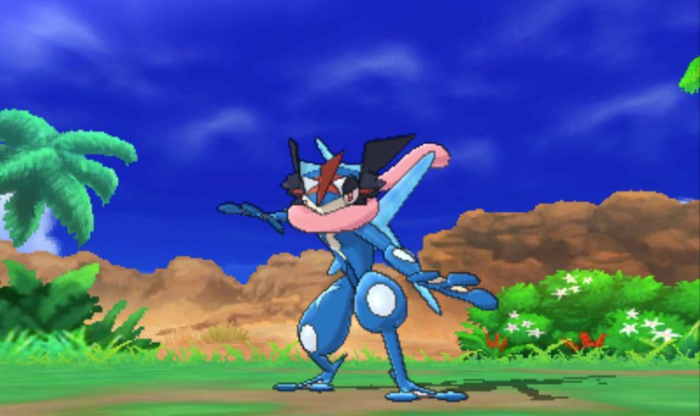 Pokémon Sol y Luna - Un greninja muy especial