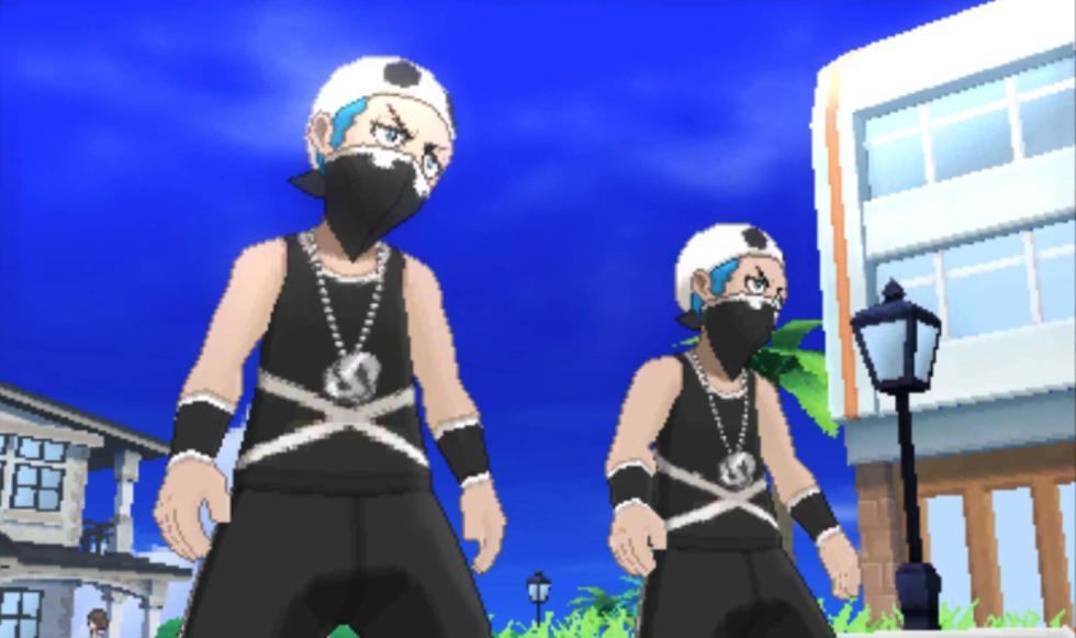 Pokémon Sol y Luna - El Team Skull