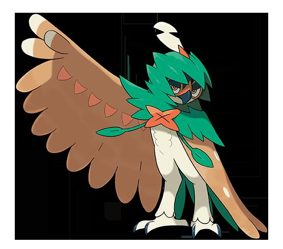 Pokémon Sol y Pokémon Luna - Decidueye