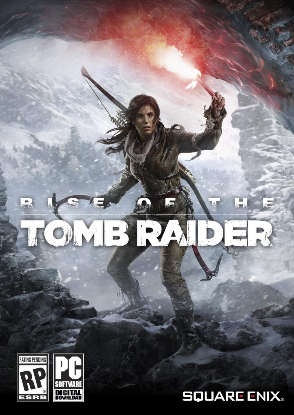 Portada de Rise of the Tomb Raider (2015)