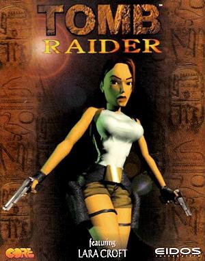 Portada de Tomb Raider (1996)