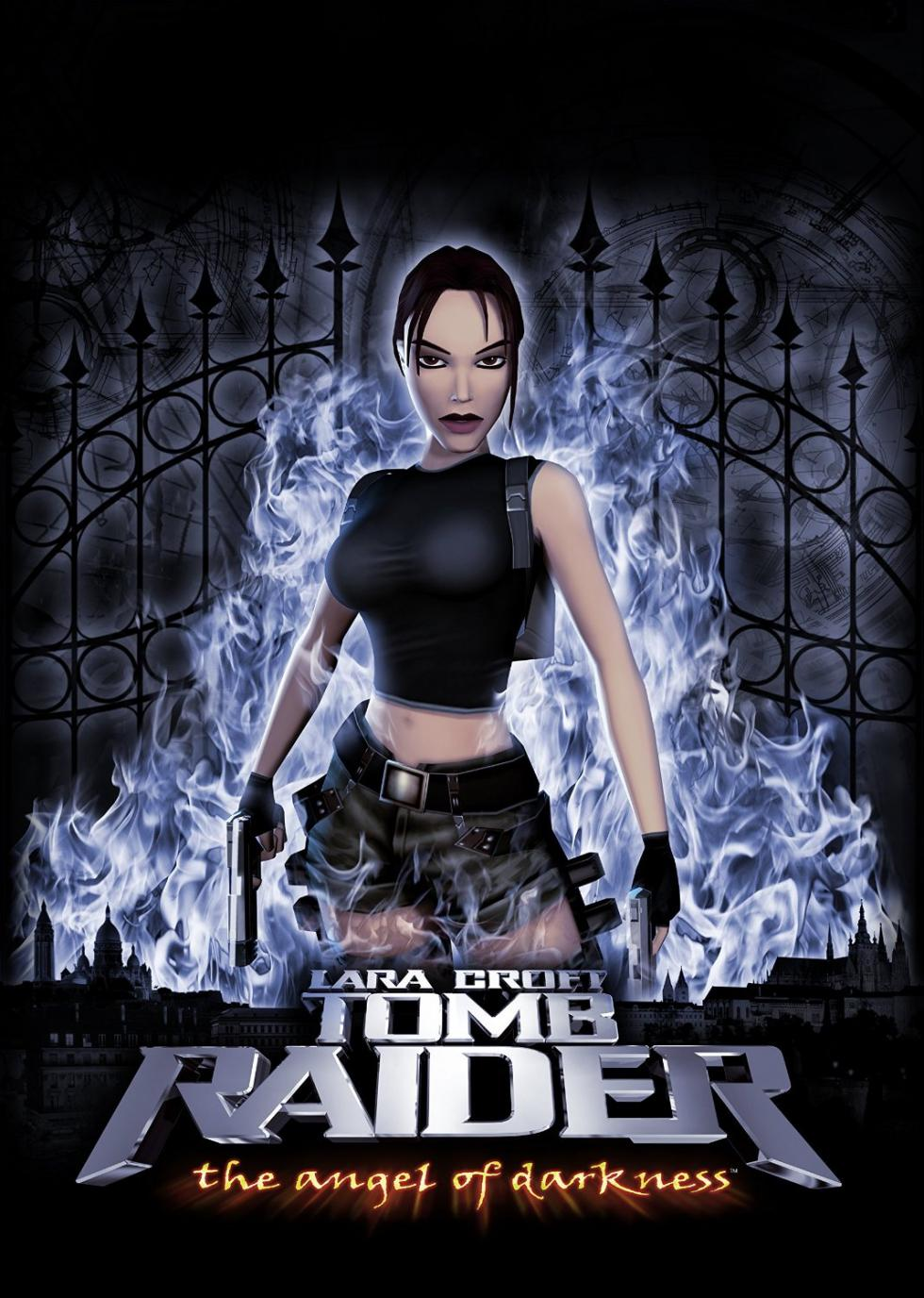 Portada de Tomb Raider The Angel of Darkness (2003)