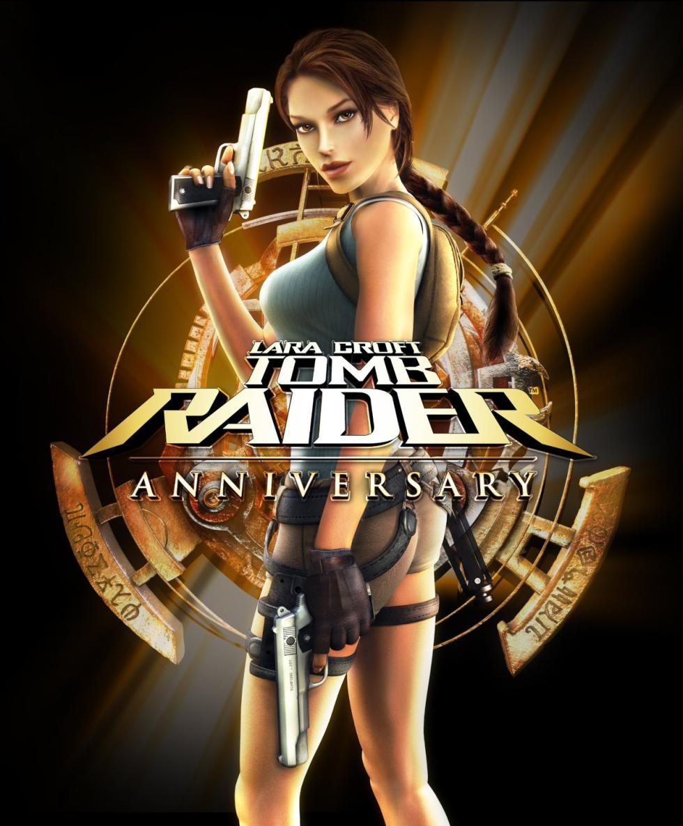 Portada de Tomb Raider Anniversary (2007)