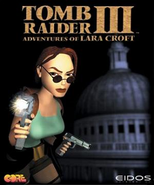 Portada de Tomb Raider III (1998)