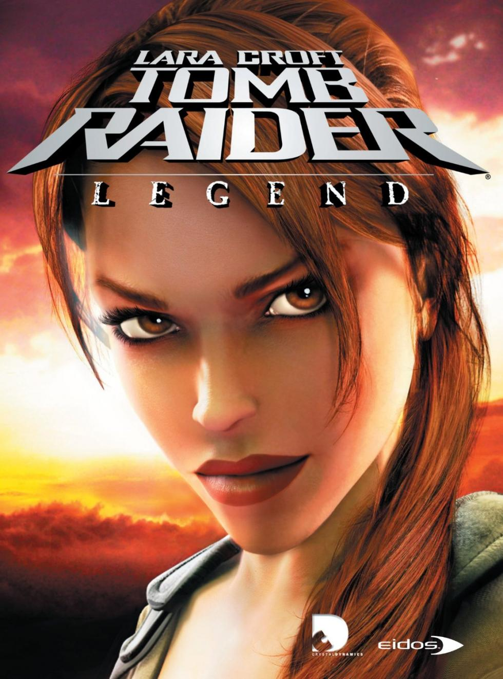 Portada de Tomb Raider Legend (2006)