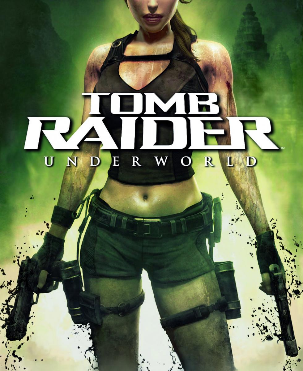 Portada de Tomb Raider Underworld (2008)