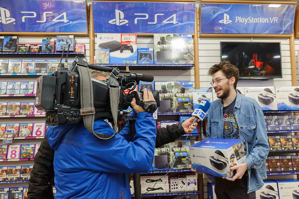 PS VR - Primeros compradores