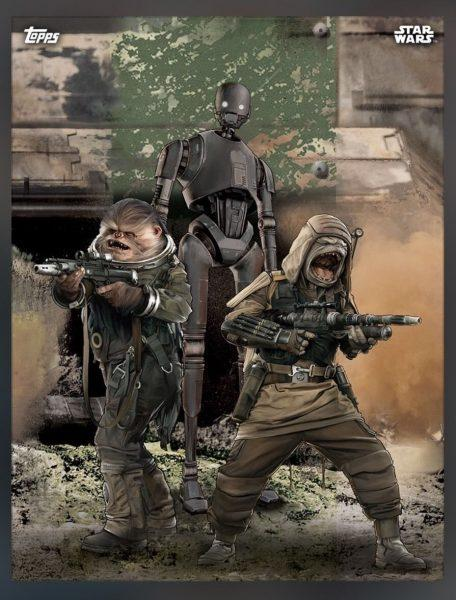Rogue One. Una Historia de Star Wars. Imagenes Topps