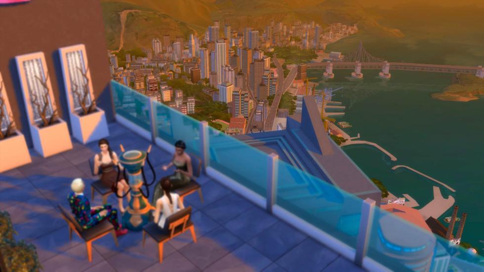 Los Sims 4 Urbanitas Galería 2
