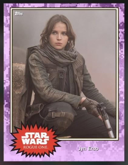 Jyn Erso (Felicity Jones) Rogue One
