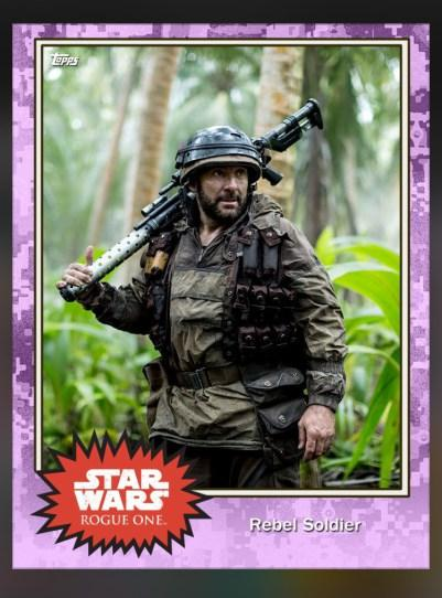 Soldado Rebelde. Star Wars Rogue One