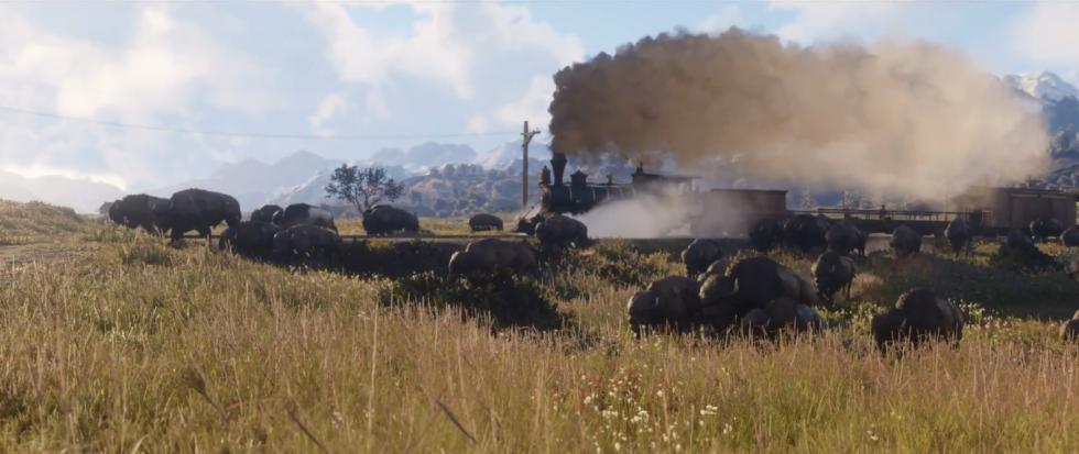 Tren en Red Dead Redemption 2