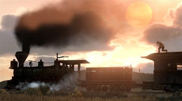 Tren en Red Dead Redemption
