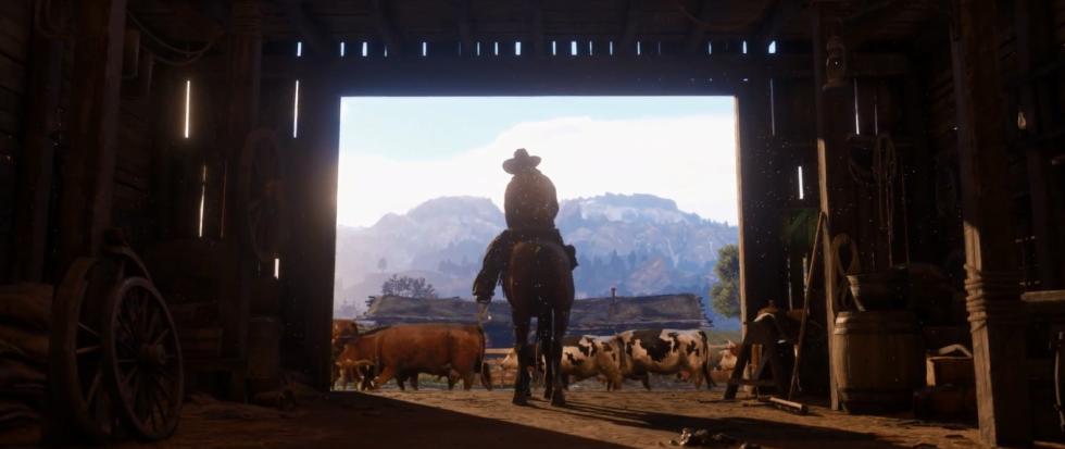 Vacas en Red Dead Redemption 2