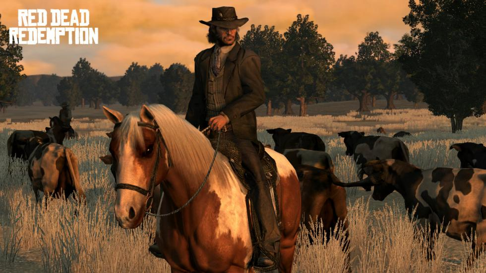 Vacas en Red Dead Redemption